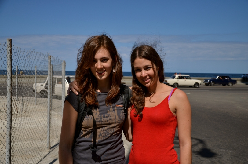 Daniela and Paige