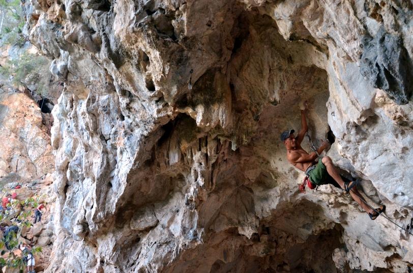 Raùl Climbing
